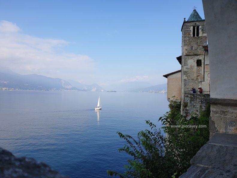 Santa Caterina de Sasso Lago Maggiore Lombardia