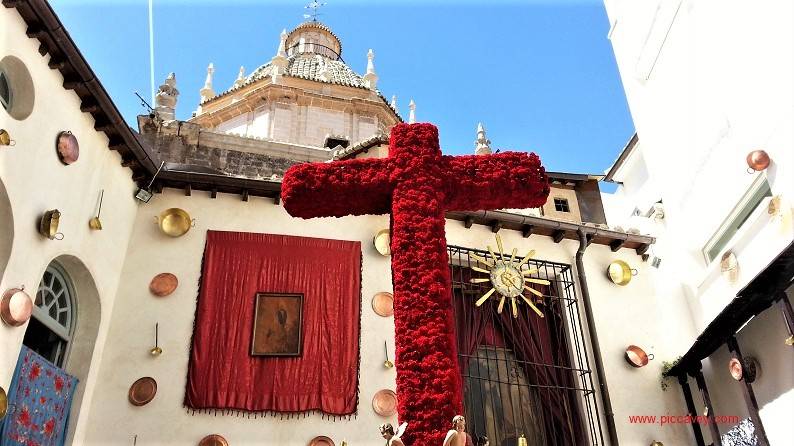 Santo Domingo Cruz de Mayo Realejo Granada piccavey
