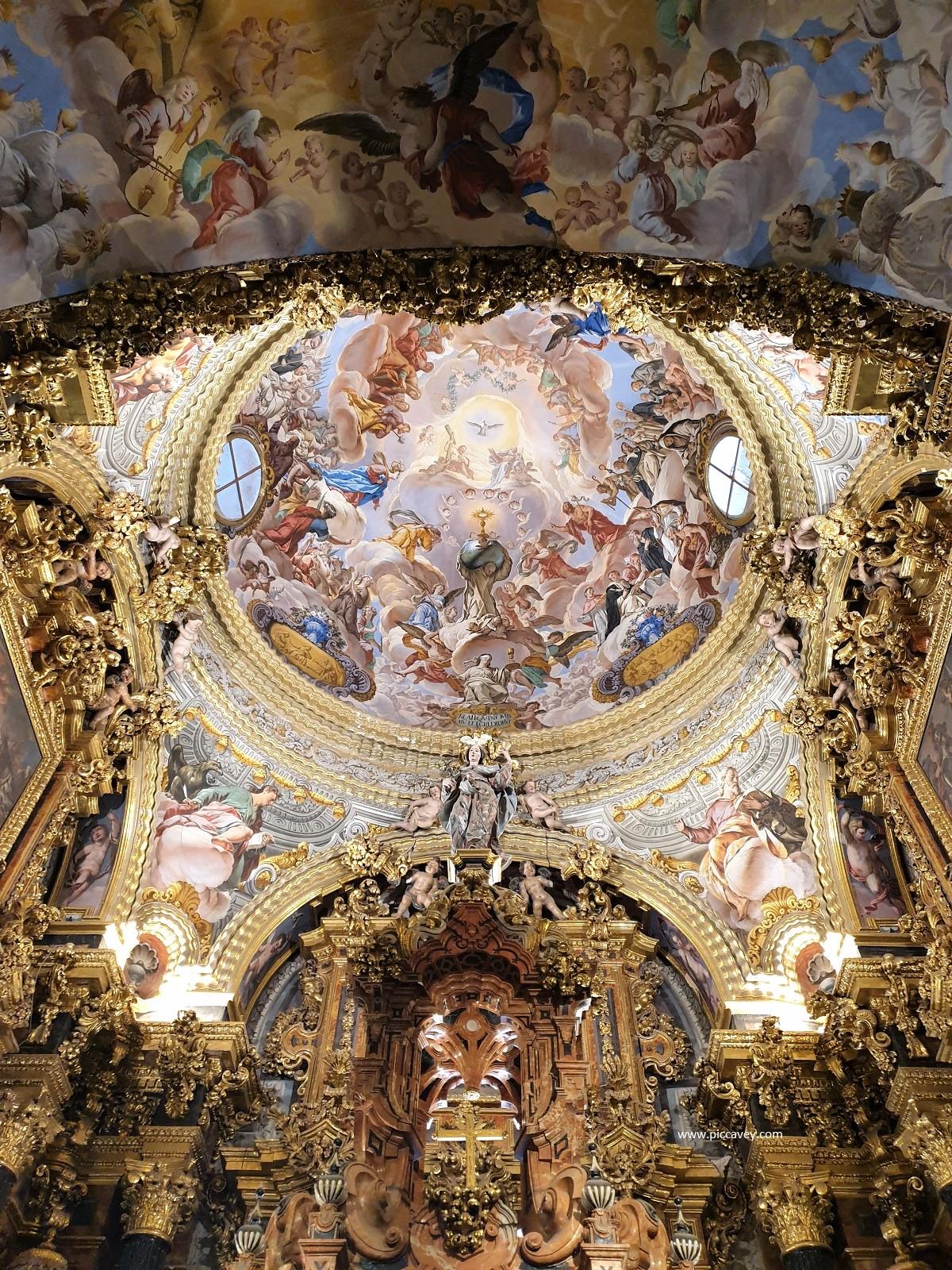 Cartuja Monastery - A Jewel of Spanish Baroque in Granada