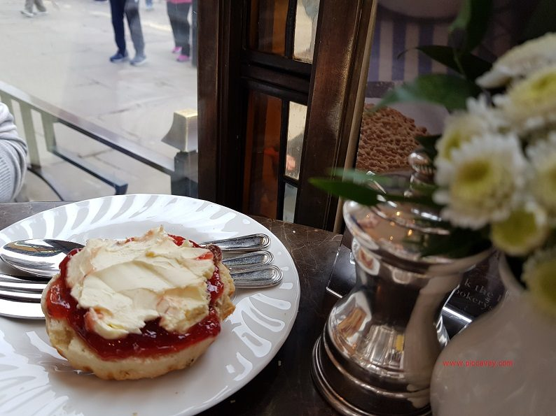 Scone at Bettys Tea Room York England