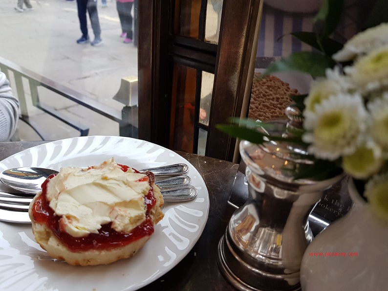 Scone at Bettys Tea Room York England