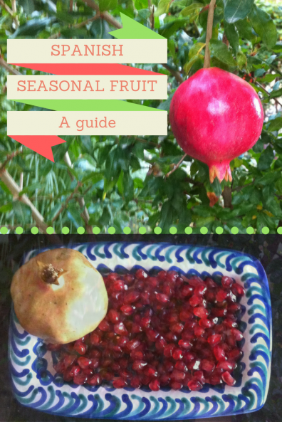 Spanish Food - Andalusia - Seasonal Spanish Fruit