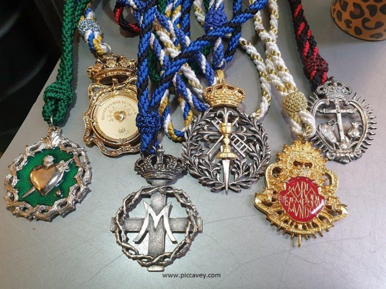 Semana Santa Medals Easter in Spain