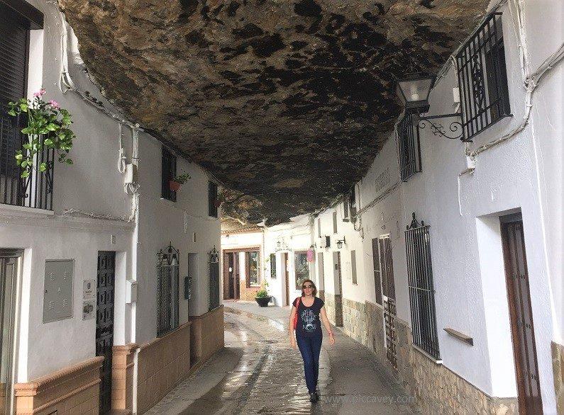 Setenil de las Bodegas Cave Cadiz