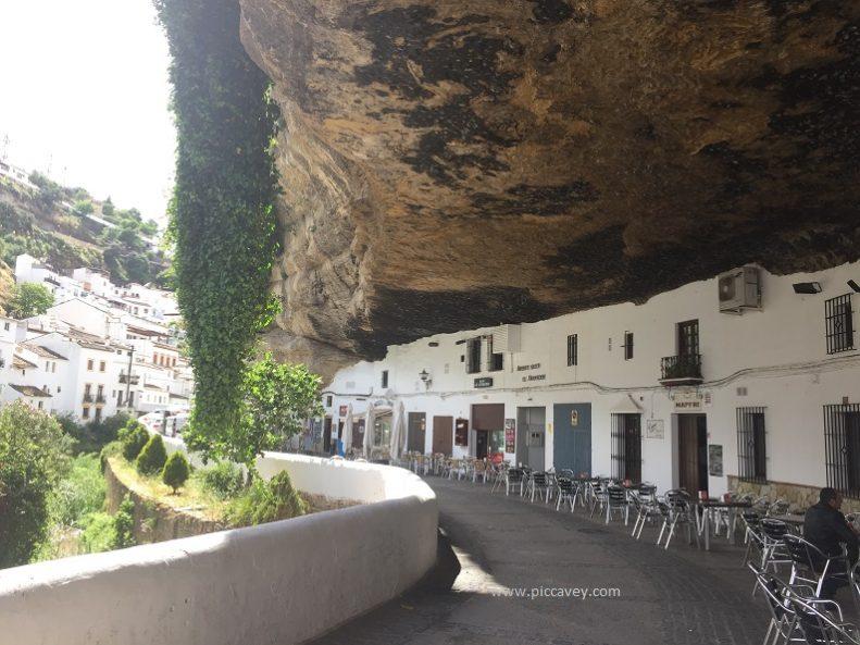 Setenil de las Bodegas Caves in Andalucia