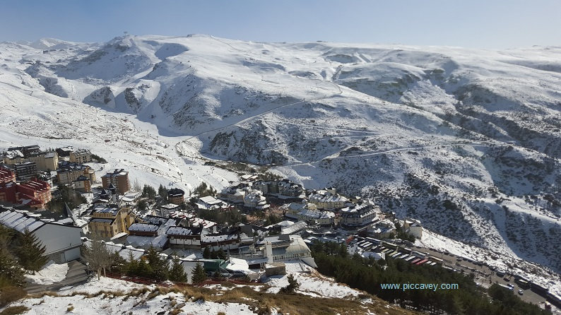 Sierra Nevada Pradollano Granada Ski Andalusia Spain blog