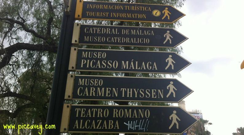 Signpost-malaga