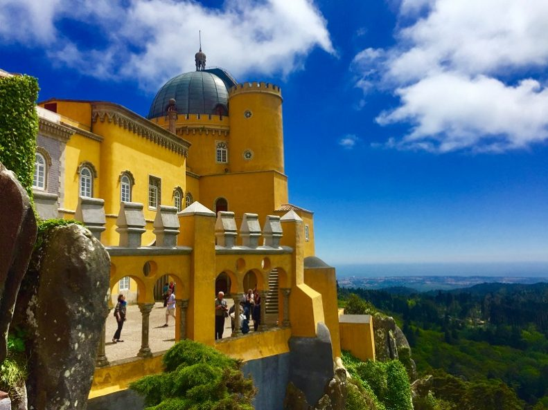 Sintra Palace in Lisbon Portugal by Jennvmy on Unsplash