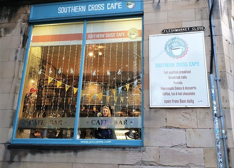 Southern Cross Cafe Edinburgh
