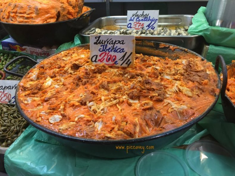 Spain Food in Malaga