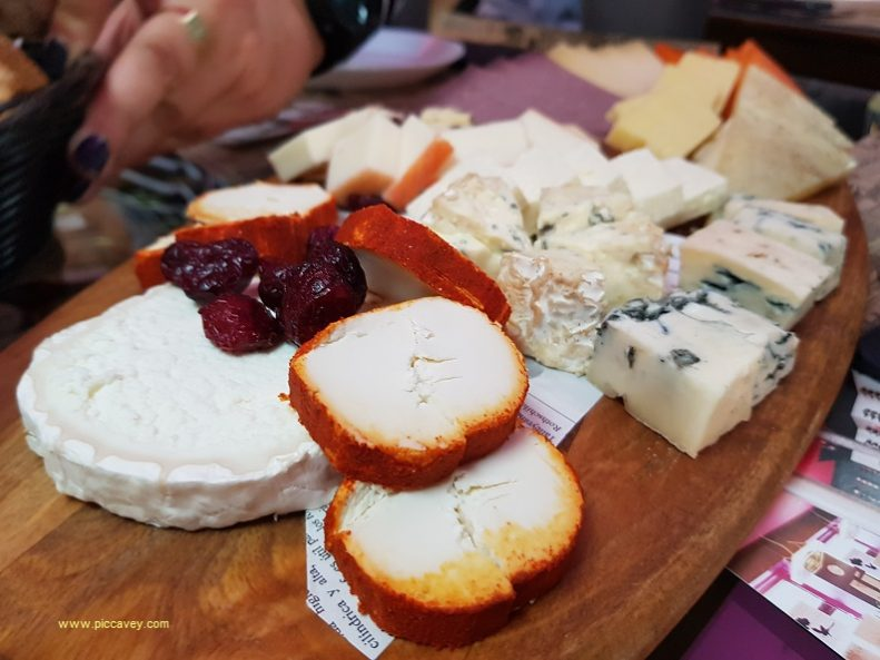 Spanish Cheese Tasting in Spain