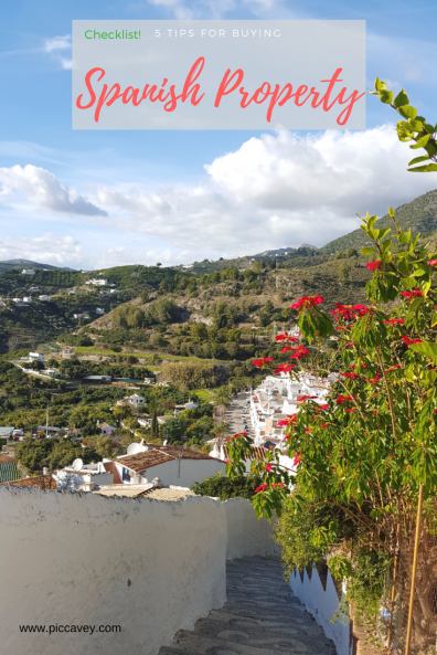Spanish Property Checklist Tips to move to spain
