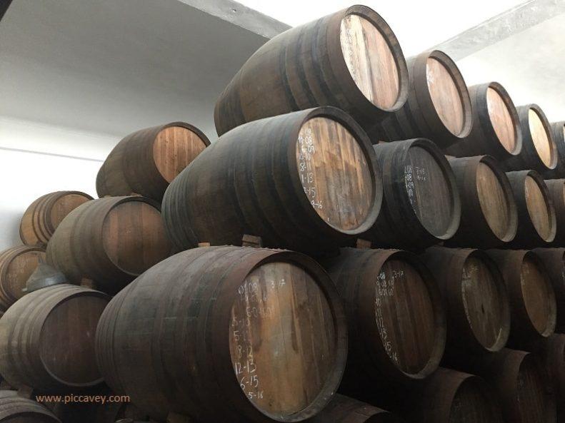 Spanish Rum Barrels
