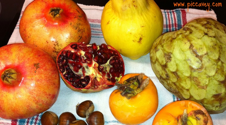 Spanish Seasonal Fruits