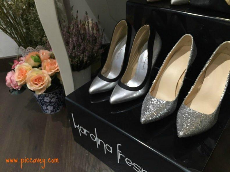 Spanish Fashion designer Shoes Karolina Fresneda