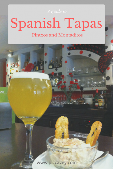 Spanish Tapas Guide by piccavey
