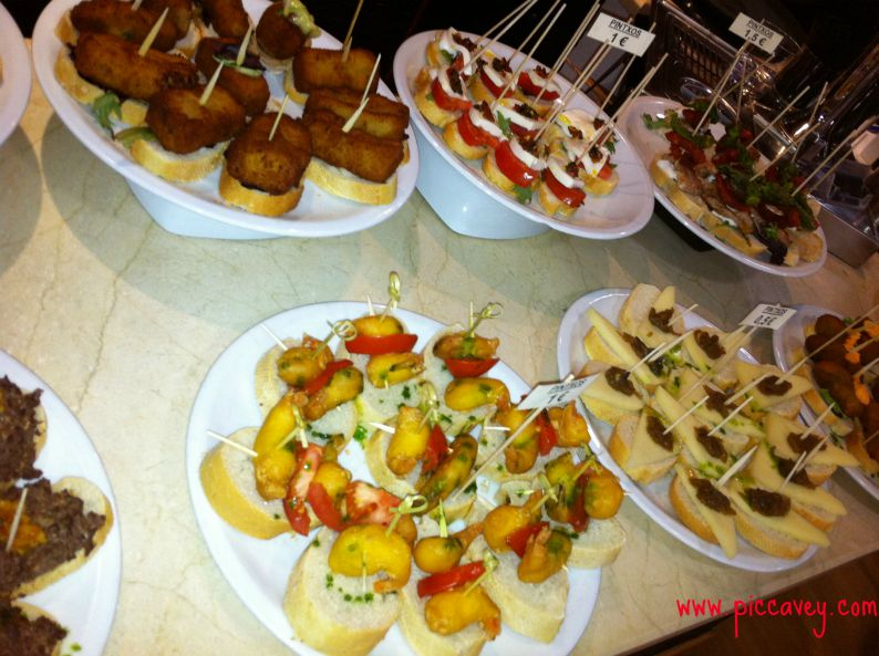 Spanish Tapas at piccavey.com