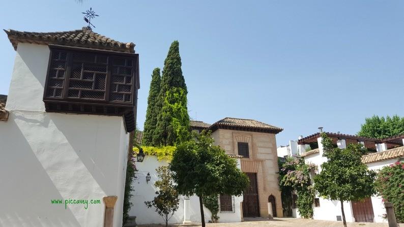Square in Cordoba Spain