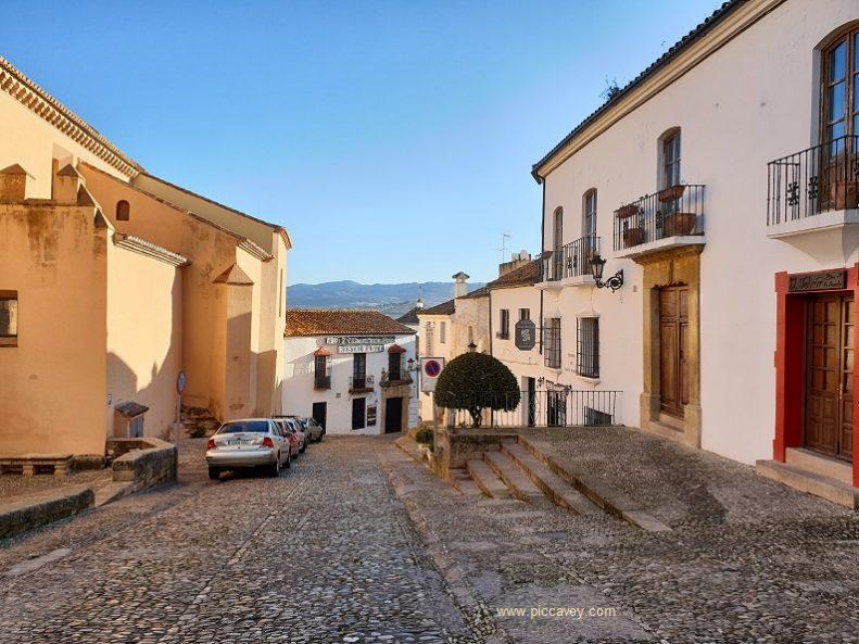 Streets of Ronda Spain Blog