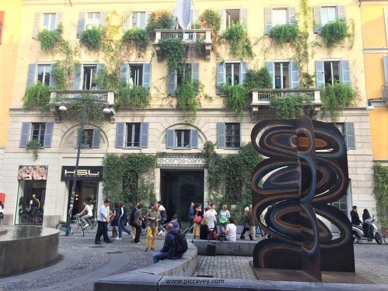 Style in Milan Corso Como