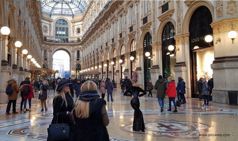 Style in Milan Galleria Vittorio Emanuele II