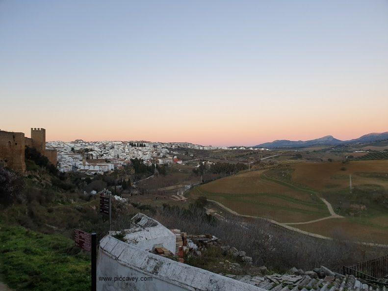 Sunset Ronda Spain Blog