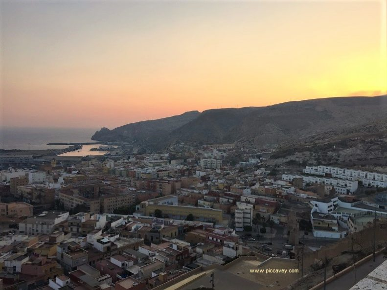 Sunset in Almeria by piccavey