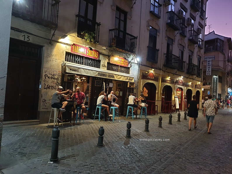 Taberna Salinas Granada Tapas