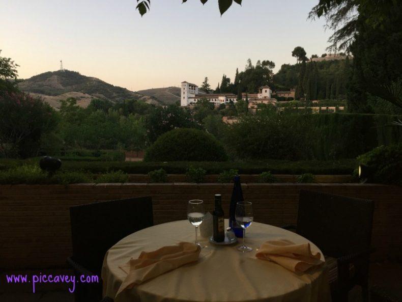 Table for Dinner Parador Granada