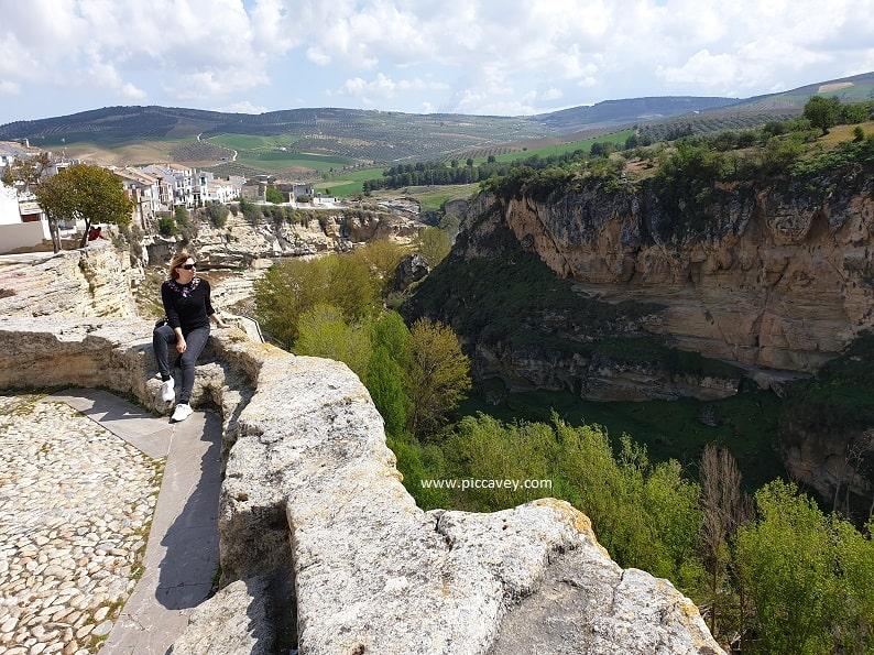 Tajo Alhama de Granada Gorge Andalucia Spain