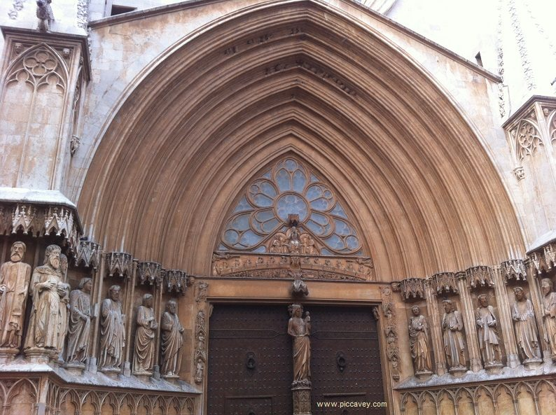 Tarragona Cathedral Catalonia Spain by piccavey