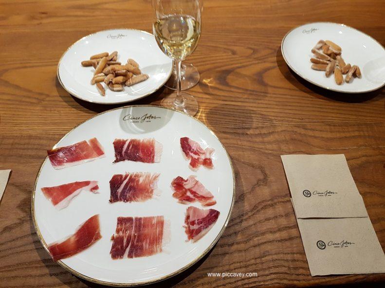 Tasting Iberian Ham in Huelva