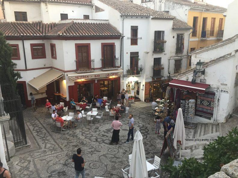 Tea Shops Calle Caldereria Albaicin