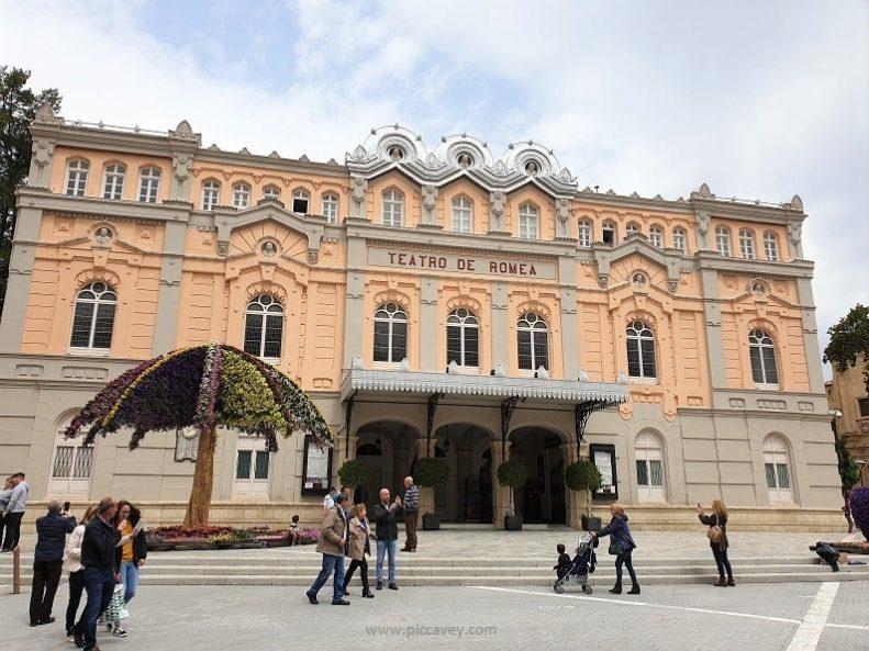 Teatro de Romea Murcia Spain-