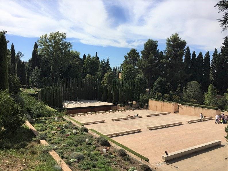 Teatro del Generalife Festival Granada