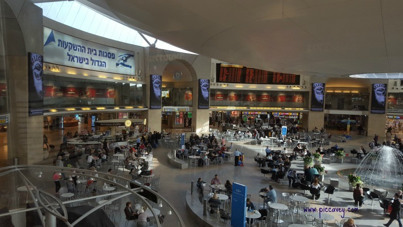 Tel Aviv Airport Ben Gurion Travel Blogger