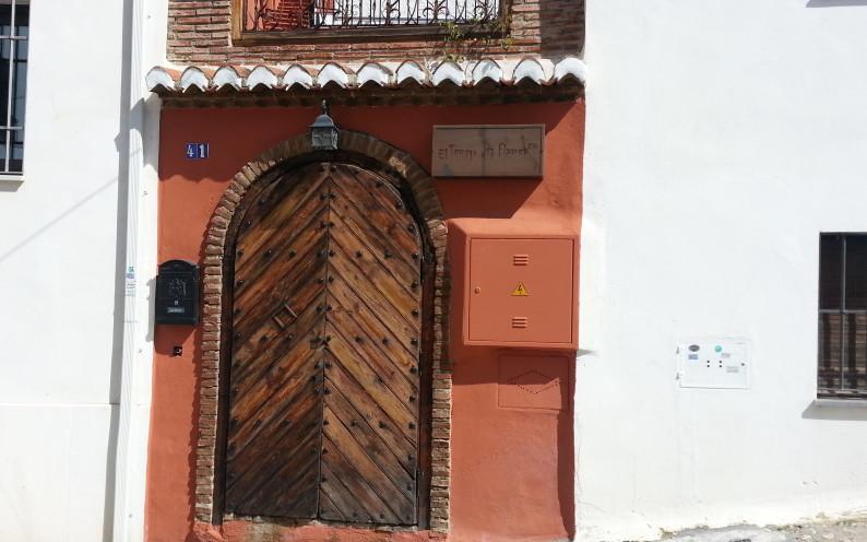 Outside the Templo del Flamenco Granada Spain