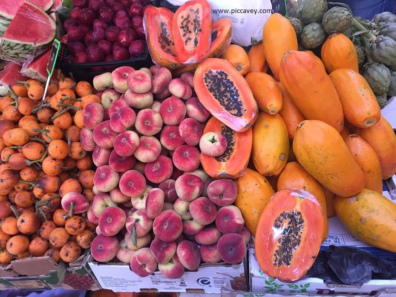 Tenerife Food Spain Blog Tropical Fruit Papay