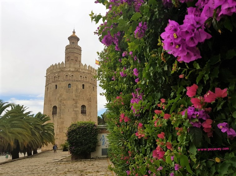 Torre del Oro in Seville by piccavey July 2018