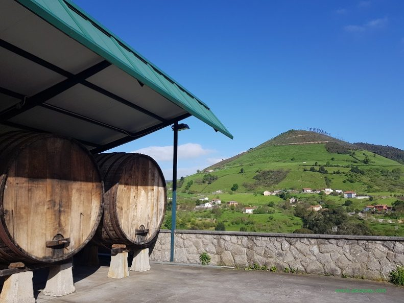 Trabanco Cider Production in Asturias Spain