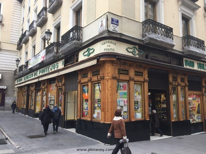 Traditional Shop in Madrids Historic Quarter