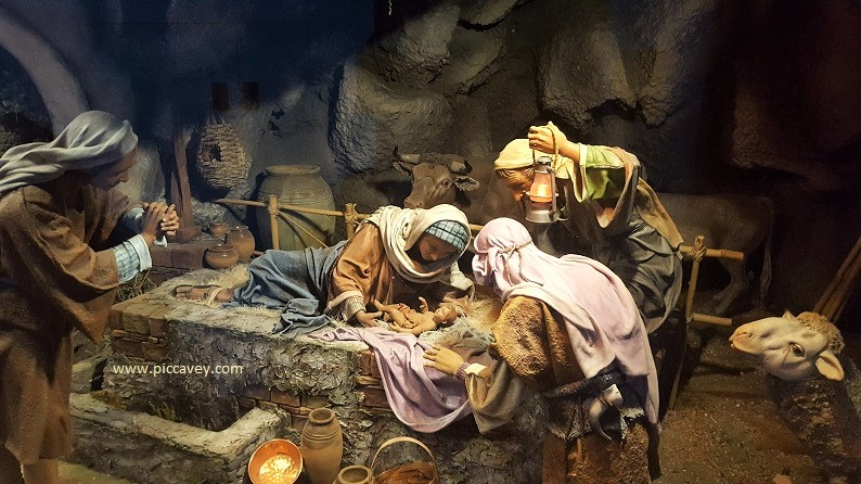 Traditional Nativity in Spain.
