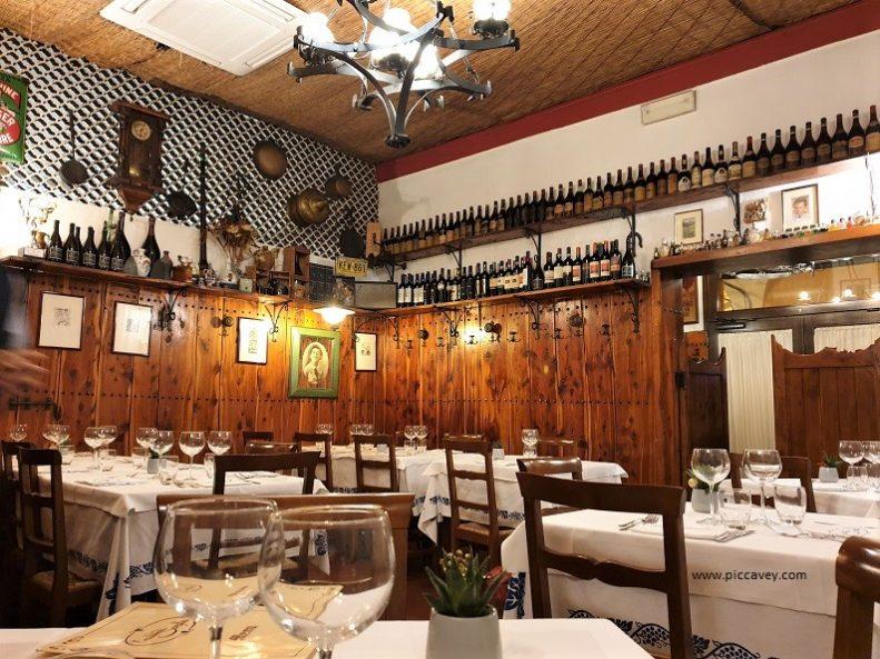 Trattoria Serghei Bologna Italy.