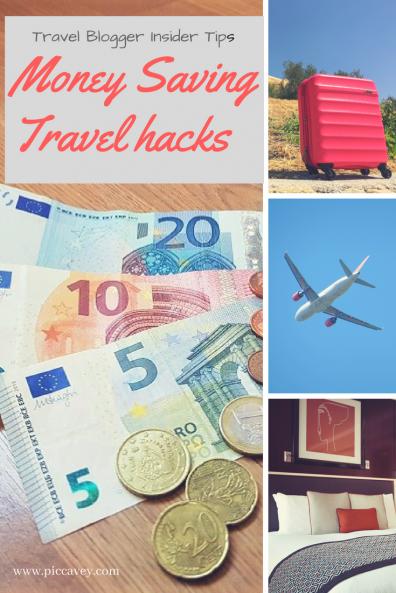 Travel Hacks Money saving tips