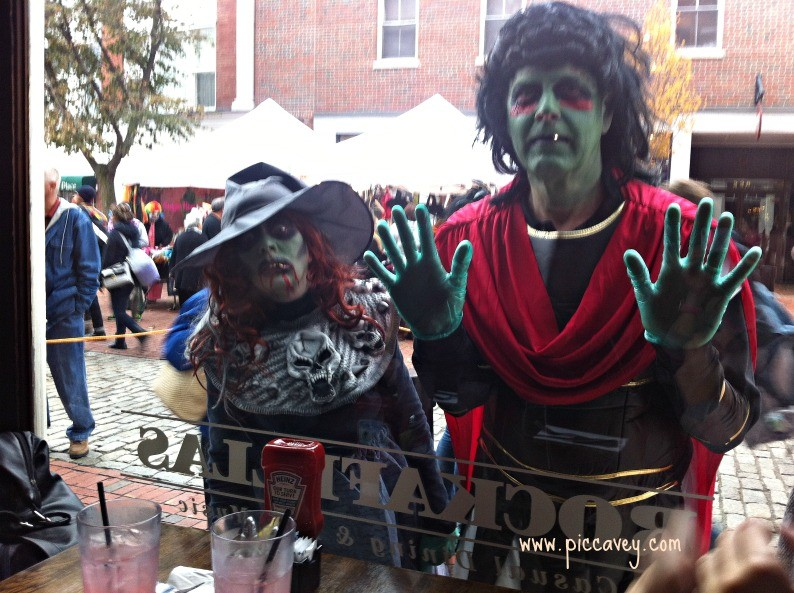 Travel blogger Salem Halloween