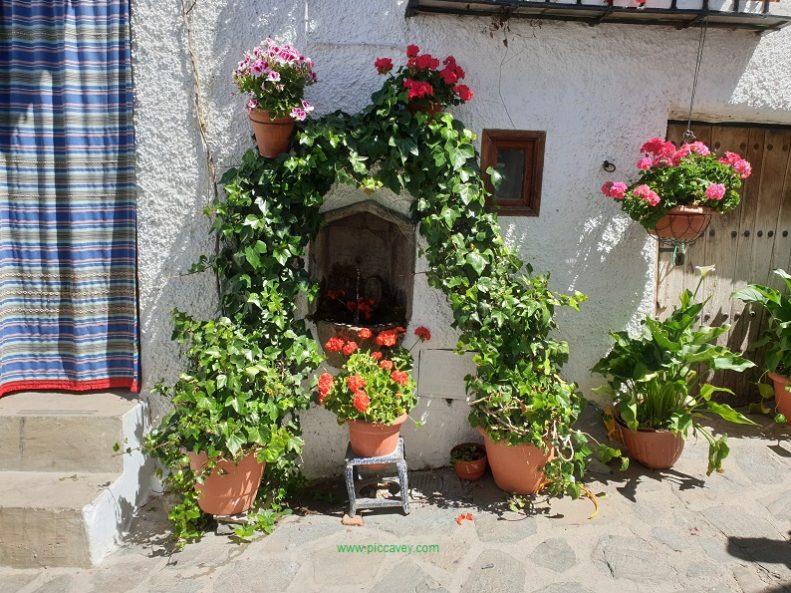 Typical Nook in Bubion Granada Spain