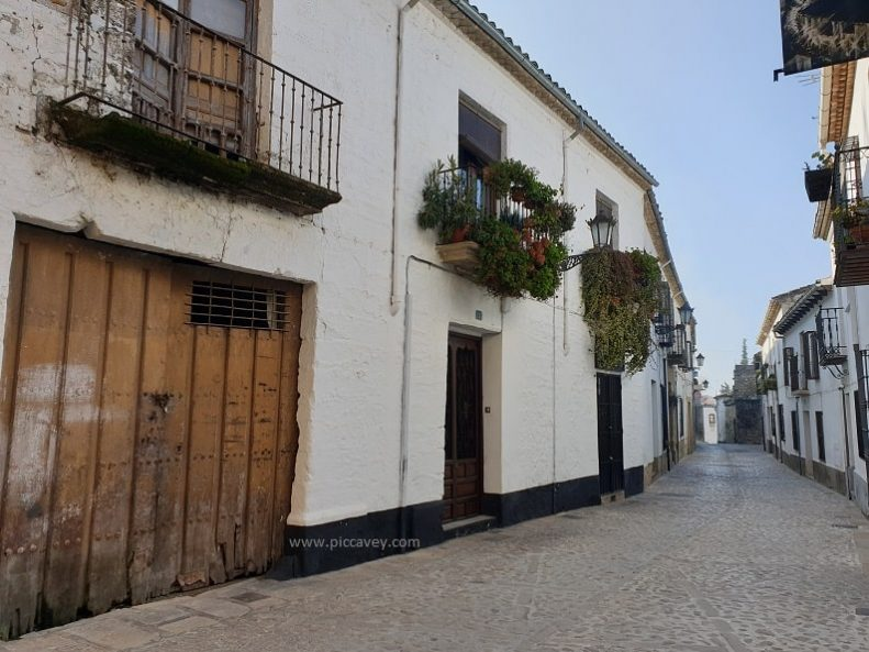 Typical Street Andalusia Baeza Jaen
