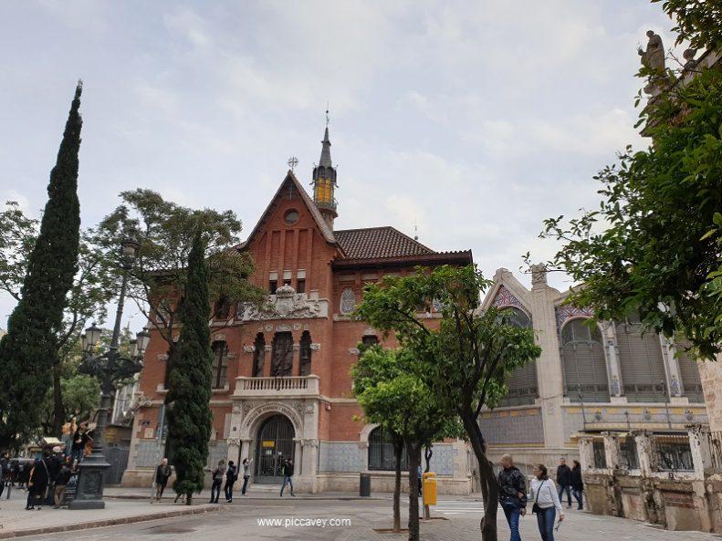 Valencia Market in Spain