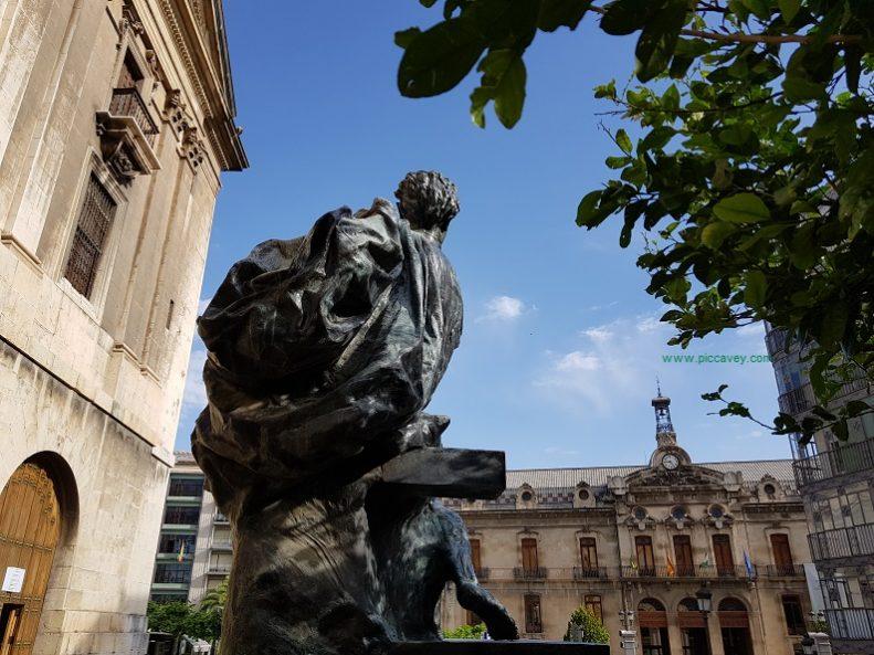 Vandelvira Statue Jaen Spain