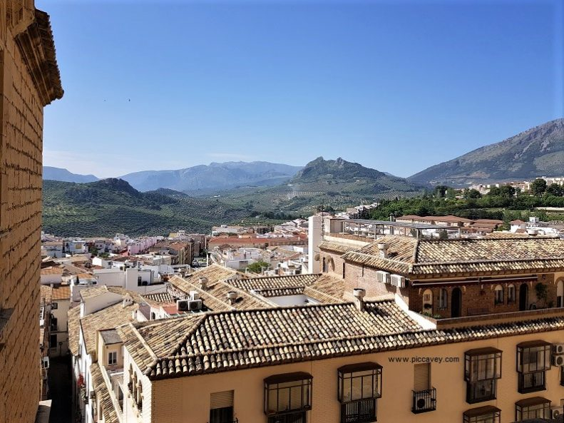 View from Jaen Cathedral Spain by piccavey